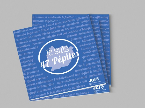 Impression d'une brochure dos-carré-collé à Agen