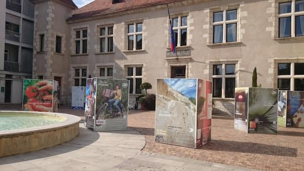 Conception d'une exposition à Nérac par (ImageDeMarque)