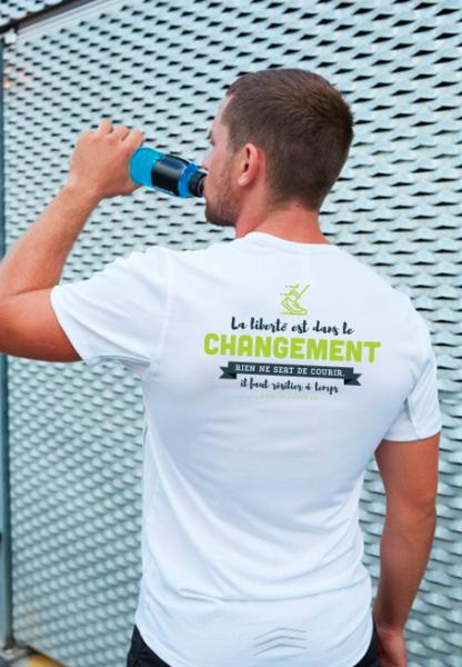 Flocage de textile sportif JeChange.fr par (ImageDeMarque) - Atelier d'impression numérique à Villeneuve-sur-Lot