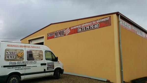 Fabrication enseigne de façade - Sainte Livrade sur Lot