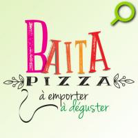 Mise au point graphique du logo Baïta Pizza