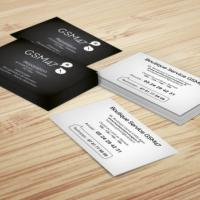 Impression de cartes commerciales