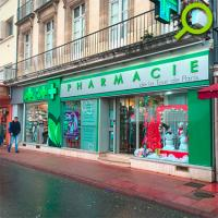Habillage de la pharmacie de la Tour de Paris à Villeneuve-sur-Lot